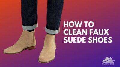 clean-faux-suede-shoes