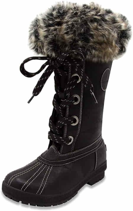 london-fog-womens-melton-cold-weather-waterproof-snow-boot